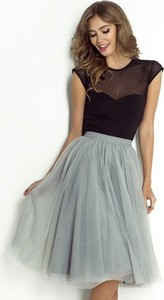 Niebieska spódnica Wow Fashion z tiulu