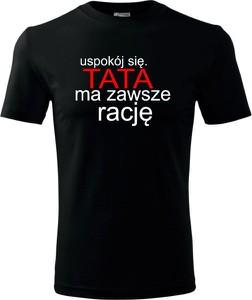 T-shirt TopKoszulki.pl z krótkim rękawem z bawełny