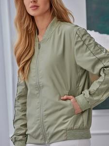 Zielona kurtka Rino & Pelle w stylu casual krótka