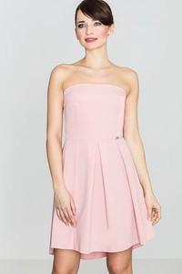 Różowa sukienka LENITIF midi