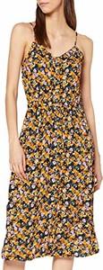 Sukienka amazon.de prosta z dekoltem w kształcie litery v w stylu casual