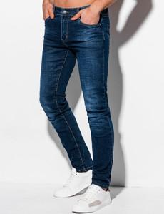Jeansy Edoti w stylu casual z jeansu