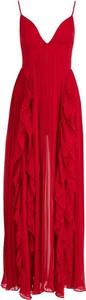 Sukienka Marciano na ramiączkach z dekoltem w kształcie litery v