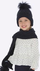 Czarna bluzka dziecięca Mayoral z tkaniny