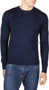 Niebieski sweter Yes Zee w stylu casual