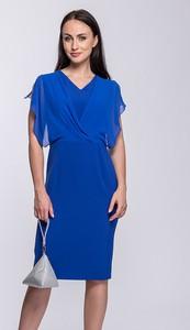 8b1235dddb szafirowe sukienki - stylowo i modnie z Allani