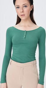 Zielona bluzka Sinsay