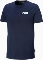 Granatowy t-shirt Puma z krótkim rękawem