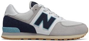 Buty sportowe dziecięce New Balance z zamszu sznurowane