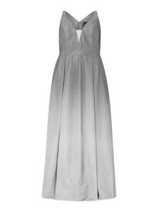 Sukienka My Mascara Curves z dekoltem w kształcie litery v maxi na ramiączkach