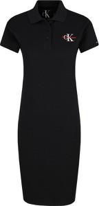 Sukienka Calvin Klein z krótkim rękawem