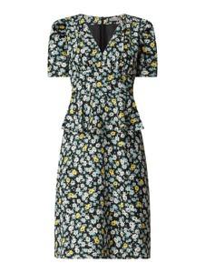 Sukienka Jake*s Collection baskinka z dekoltem w kształcie litery v