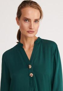 Bluzka Reserved z dekoltem w kształcie litery v bez rękawów
