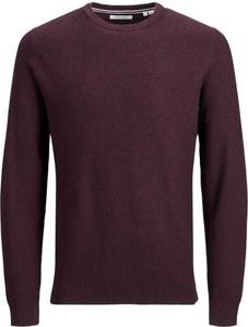 Czerwony sweter Jack Jones