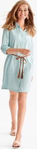 Sukienka YESSICA ołówkowa z długim rękawem w stylu boho