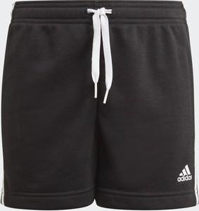 Czarne spodenki dziecięce Adidas