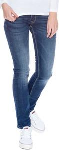 Granatowe jeansy Pepe Jeans z jeansu