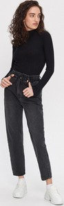 Czarne jeansy House z jeansu
