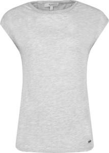 Bluzka Pepe Jeans w stylu casual z krótkim rękawem z okrągłym dekoltem