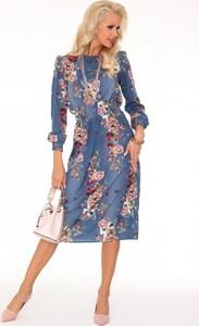 6202280975 sukienka z bufkami - stylowo i modnie z Allani