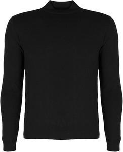Czarny sweter Xagon z dzianiny w stylu casual