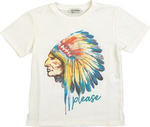 Koszulka dziecięca PLEASE z krótkim rękawem