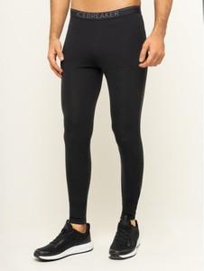 Czarne spodnie sportowe Icebreaker