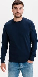 Sweter Jack & Jones z okrągłym dekoltem z bawełny