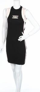 Czarna sukienka Puma bez rękawów mini w stylu casual