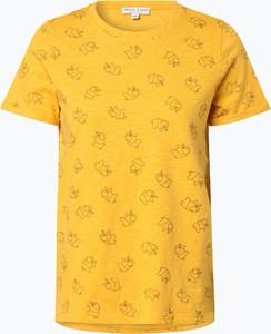 Żółty t-shirt Marie Lund w stylu casual