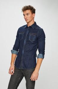 Niebieska koszula Guess Jeans
