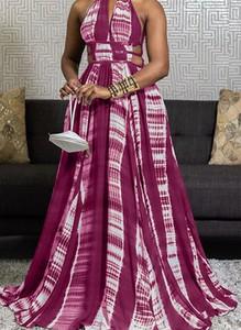 Różowa sukienka Arilook bez rękawów