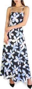 Niebieska sukienka Armani Exchange