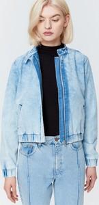 Kurtka Big Star krótka w stylu casual z jeansu