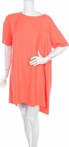 Sukienka Soft Rebels z okrągłym dekoltem prosta mini