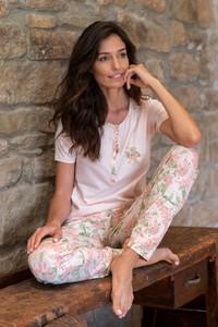 Piżama Softcotton w stylu casual