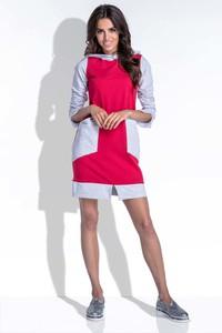 Sukienka Fobya sportowa z długim rękawem z bawełny