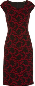 Czarna sukienka bonprix bpc selection premium midi