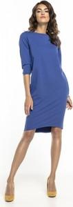 Niebieska sukienka Tessita z bawełny