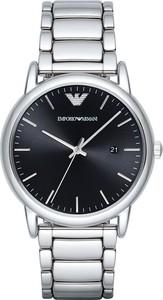 Zegarek EMPORIO ARMANI - Luigi AR2499 Silver/Silver