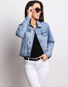 Niebieska kurtka Dstreet z jeansu