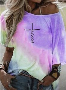 Fioletowa bluzka Sandbella z długim rękawem