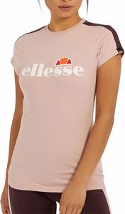 Bluzka Ellesse z krótkim rękawem z bawełny w sportowym stylu