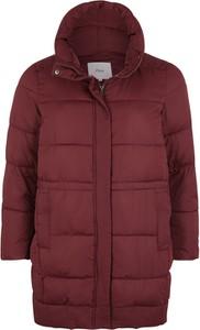 Czerwony płaszcz Zizzi w stylu casual