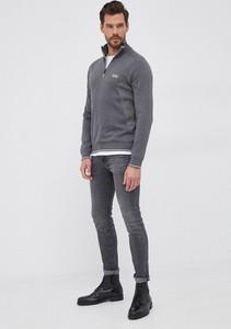 Sweter Hugo Boss ze stójką z bawełny w stylu casual