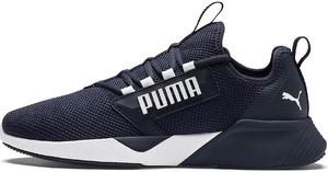 Granatowe buty sportowe Puma sznurowane