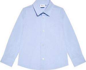 Niebieska koszula dziecięca Hugo Boss