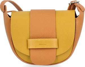 Żółta torebka VITTORIA GOTTI w stylu casual