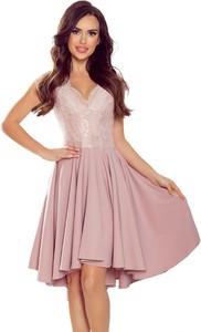 Sukienka Moda Dla Ciebie z dekoltem w kształcie litery v