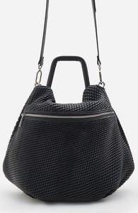 Czarna torebka Reserved w stylu casual na ramię